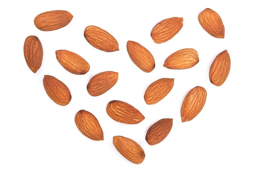 raw almonds for making nut butter