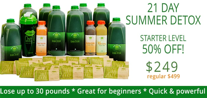 50% Off Chef V's 21 Day Detox