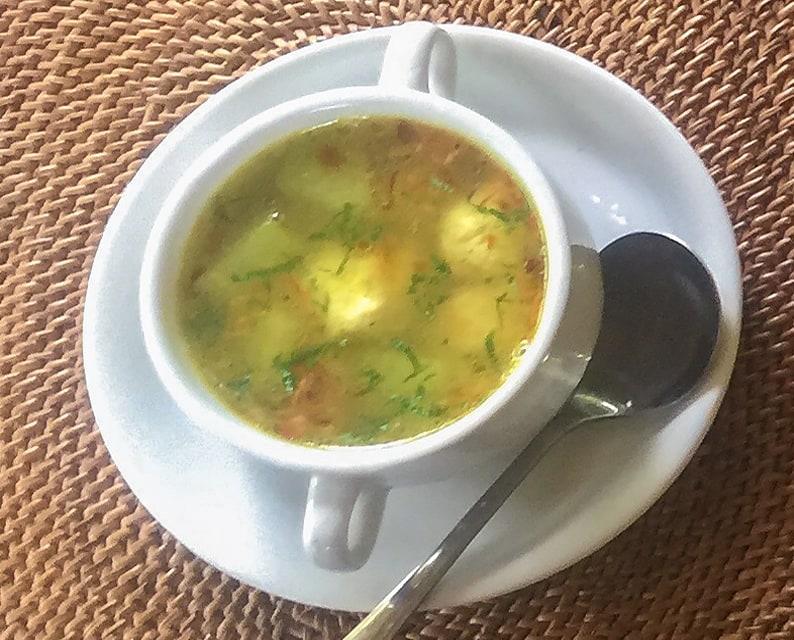 Chef V Calon be siap chicken meatball soup