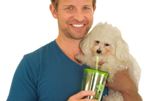 Intermittent fasting and green drink - Brandon Kress