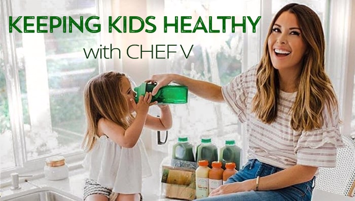 Keeping kids healthy with Chef V