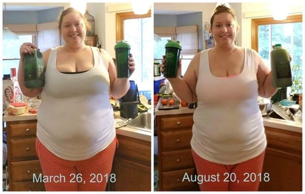 K.I. Lynn's green drink challenge