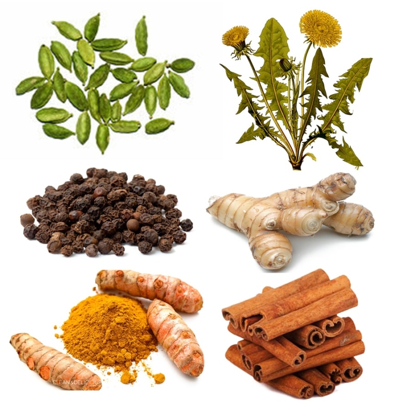 six spices for better digestion