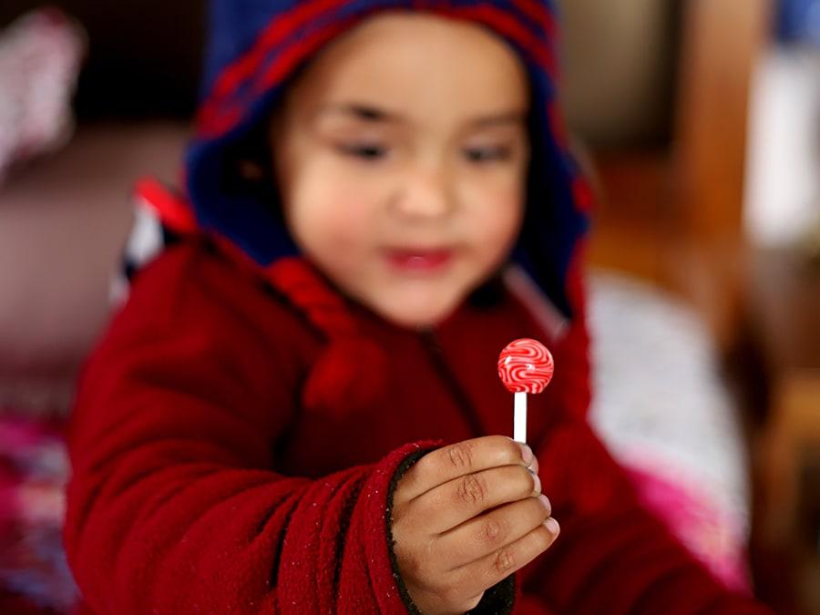 sugarfree lollipop