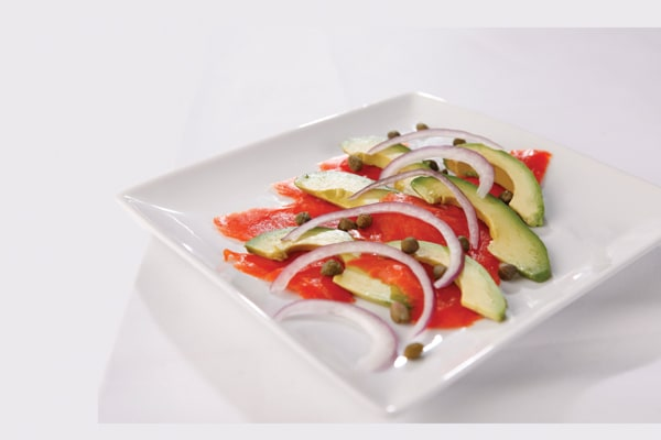 breakfast carpaccio