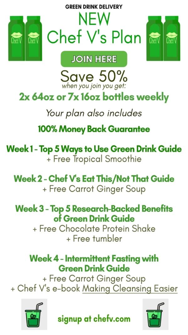 Free week of green drink