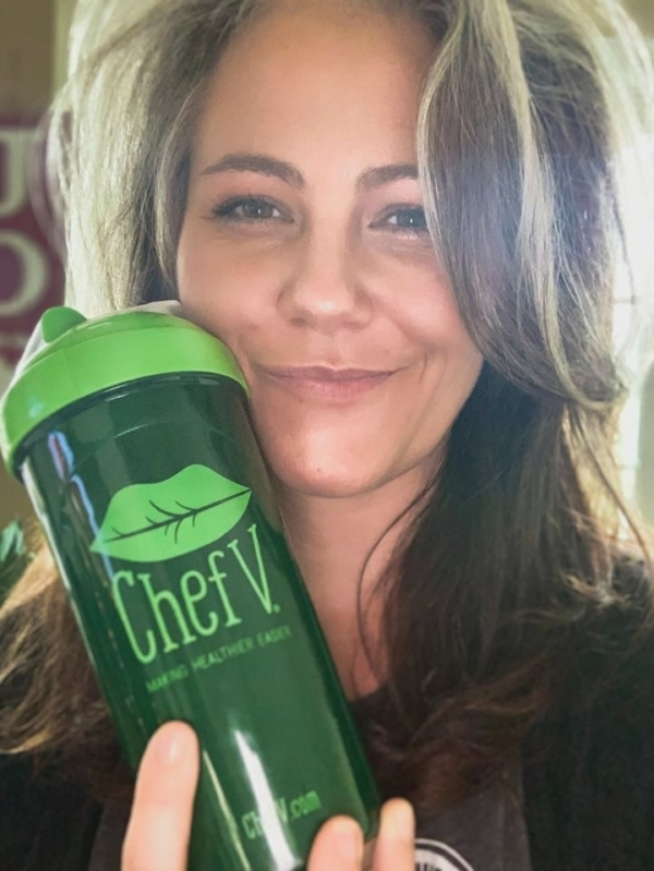 Chef V Cleanse - Ambika Leigh is feeling healthy